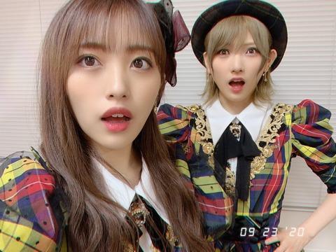 【AKB48】「めざましテレビ」のめざましじゃんけんに、向井地美音と岡田奈々が登場!