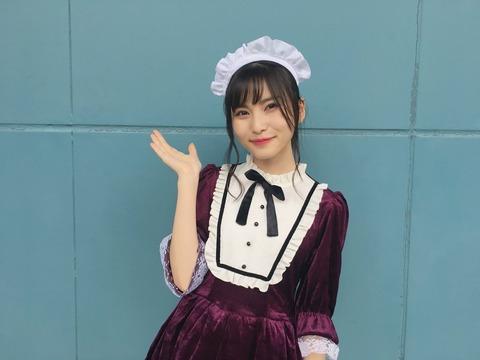 【朗報】せいちゃんのハロウィンコスプレが超絶可愛い!!!【AKB48・福岡聖菜】