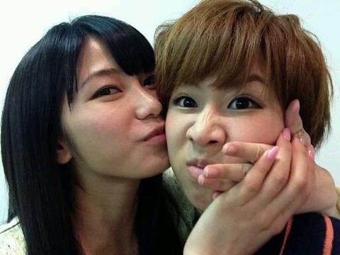 【AKB48】横山由依と大家志津香がイチャイチャし過ぎ問題【twitter】