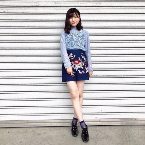 【AKB48】福岡聖菜「今夏は足を出して行く所存です。よろしくお願いします」【せいちゃん】