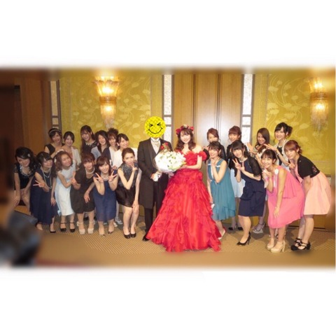 【元AKB48】小森美果の結婚式に出席したメンバー・OGがこちら