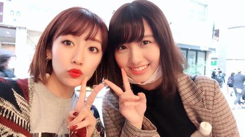 【元AKB48】たかみなとなーにゃが偶然の再会!!!【高橋みなみ・大和田南那】