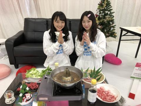 【悲報】NMB48次世代エース候補が先輩の食べ残しをwww【山本彩加・梅山恋和】