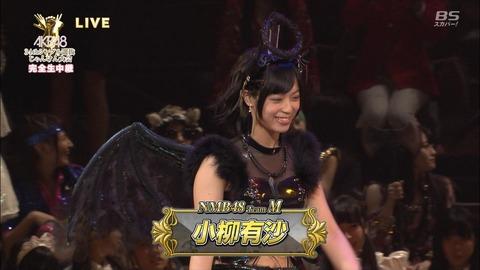 【NMB48】小柳有沙「城が昇格。大人に嘘つかれた(泣)」