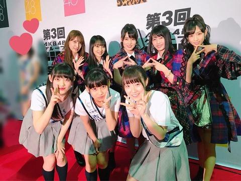 【AKB48】第3回ドラフト会議後のメンバー数が19人増の125人に