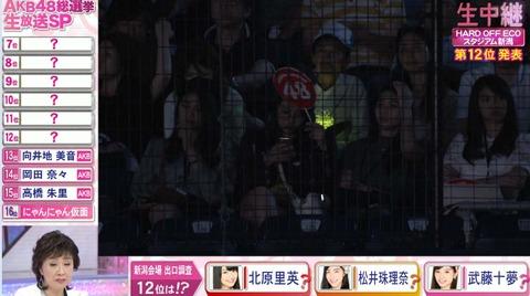 JKT48のメンバーが総選挙の中継で抜かれてたの気付いた奴いる?