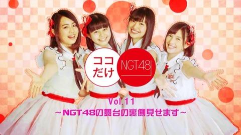 【NGT48】ケーブルTV冠番組「ココだけNGT48」も打ち切りか?