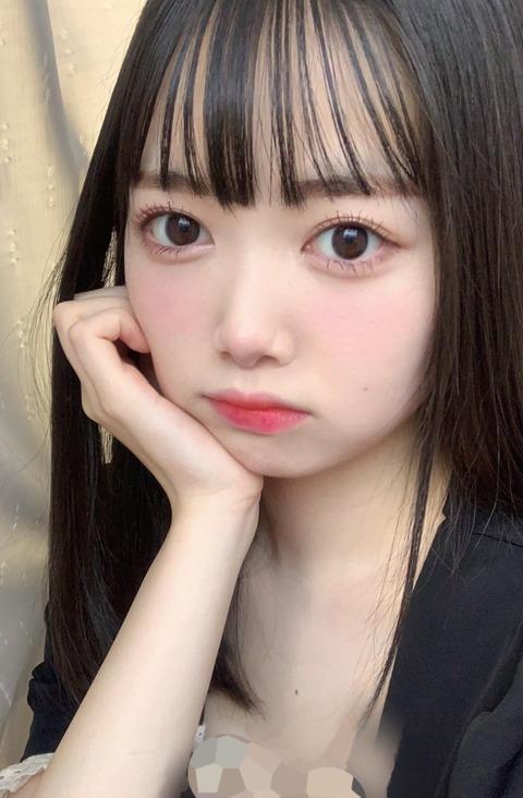 【悲報】俺たちの楓ちゃんがまさかのモザイク処理【NMB48・黒田楓和】