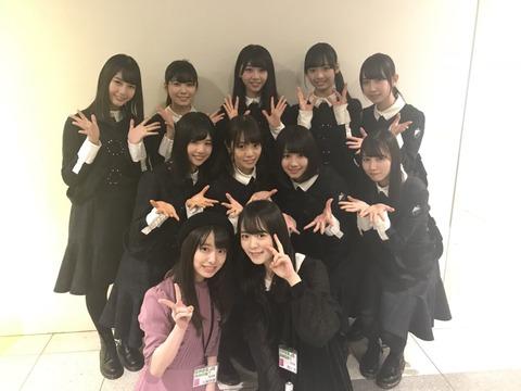 【画像】AKB48久保怜音ちゃんが欅坂46を公開処刑wwwwww