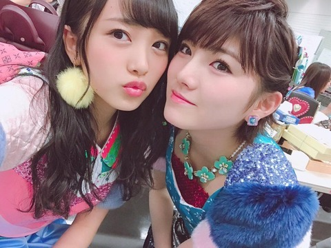 【AKB48】この一年で向井地美音と岡田奈々の人気が完全に逆転した