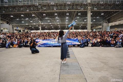 【驚愕】NMB48山本彩卒業コンサ―ト、約3分の1が女性ファン!!!