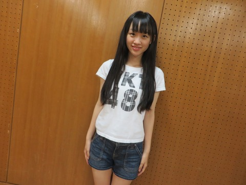 【HKT48】4期生、音嶋莉沙が他のプロダクションに所属していることが判明したため、合格取り消し