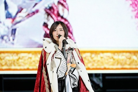 【SKE48】6月19日開催予定の松井珠理奈の生誕祭が中止に