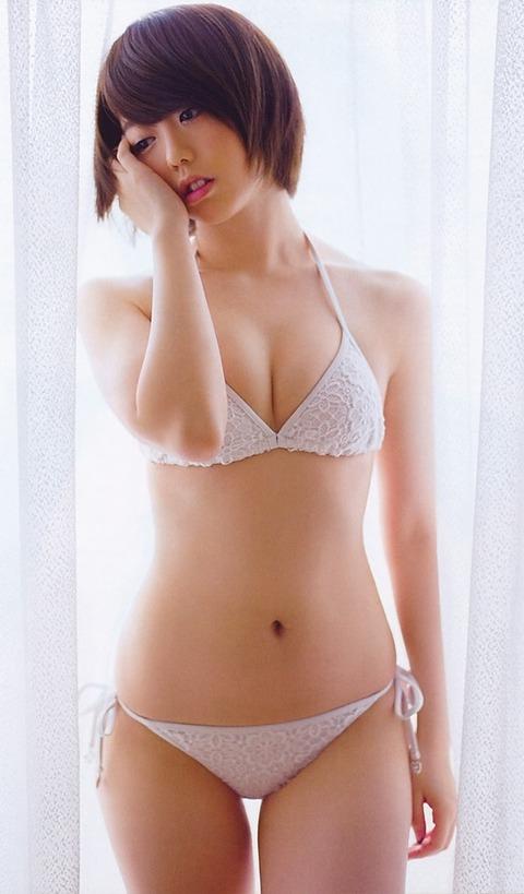 【AKB48G】メンバーの水着お●ぱい画像キタ━━━(゚∀゚)━━━!!