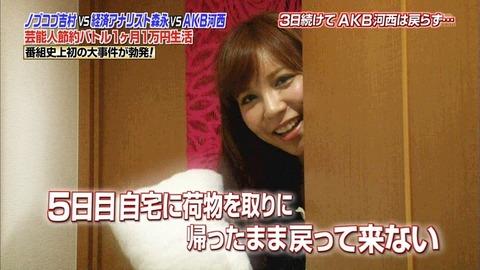島田を1ヶ月1万円生活に出させたい