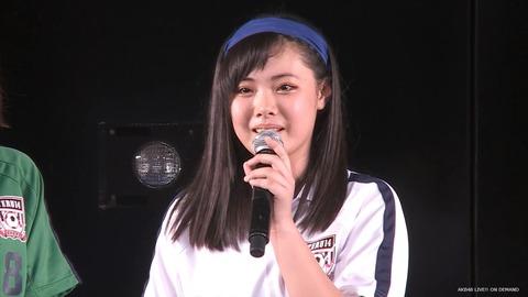 【悲報】AKB48西山怜那、劇場公演にて卒業発表