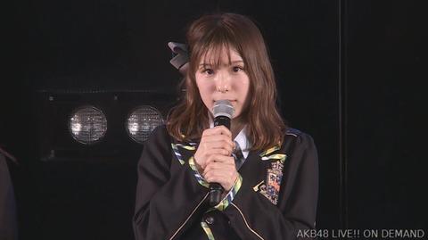 【AKB48】小嶋菜月、卒業発表。8月いっぱいで活動終了