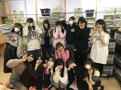 【AKB48】毎年恒例の劇場大掃除、今年の参加者はこちら