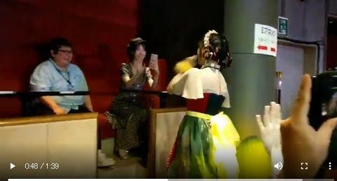 【AKB48】チーム8の舞台でヤベー女ヲタが発見されるwwwwww