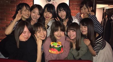 【AKB48】入山杏奈送別会に豪華メンバーが集合。パーティー皆勤賞の北原ももちろん参加!