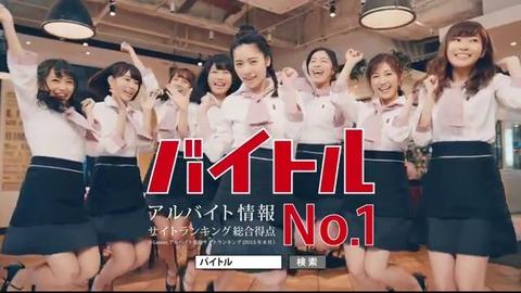 【AKB48】バイトル新CMが公開!主役はぱるる!!!【島崎遥香】