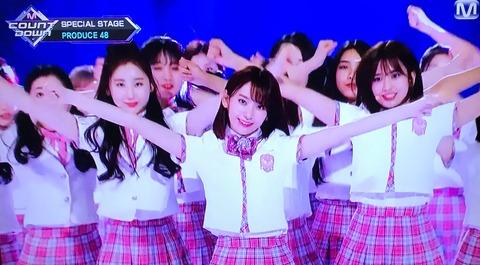 【朗報】宮脇咲良がPRODUCE48の初代センターに決定!!!