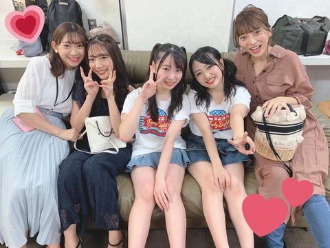 【AKB48】向井地美音「昨日の福岡ツアーなんと卒業生のあきちゃさん、みちゃさん、まりんちゃんが見に来てくださいました」
