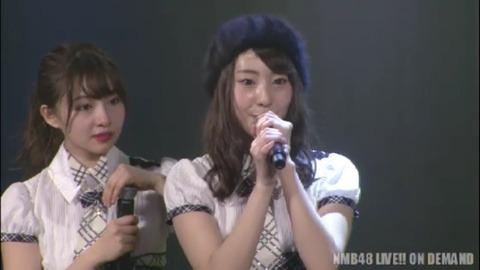 【悲報】NMB48藤江れいな、劇場公演で卒業発表