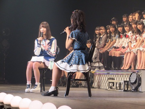 【HKT48】田中菜津美「リクアワでMCすると来年は哲学の人みたいに居なくなってそうで怖い」