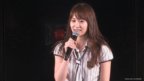 【悲報】AKB48永尾まりや、公演にて卒業発表