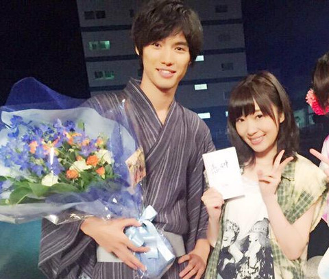 【HKT48】恋仲の共演から指原莉乃と福士蒼太の交際が始まる可能性