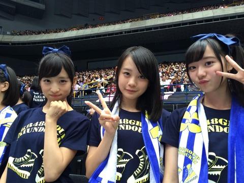 【AKB48】チーム8横山結衣ちゃんのルックスが絶賛成長中