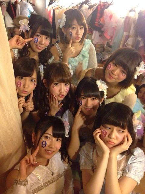 【AKB48】9期体制って言うけど横山島崎に次ぐ3番手が9期にいない