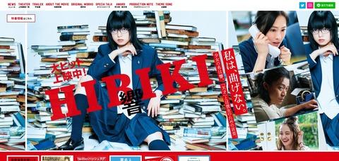 【欅坂46】平手友梨奈主演映画「響-HIBIKI-」コケるwww