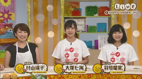 【NGT48】2期生、はやくも単独でテレビにまるまる1時間出演してしまう
