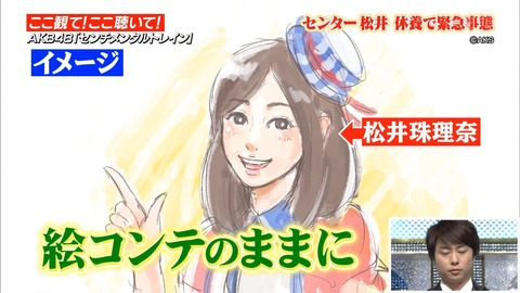 AKB48】珠理奈が数日前の新曲のMV撮影にも参加してないってことはMVどうなるんだろ?【松井珠理奈】
