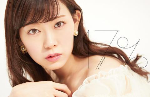 【朗報】みるきーの1stアルバム「17%」がデイリー3位【渡辺美優紀】