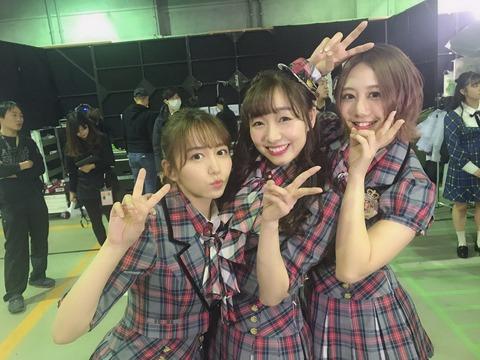 【悲報】SKE48古畑奈和がグループのファン層を嘆くwwwNMB48への女性ファンの声援に「SKEでは聞かない声援」
