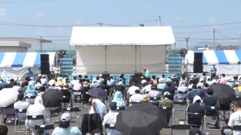 【STU48】岸壁野外ライブが熱中症待ったなしwww