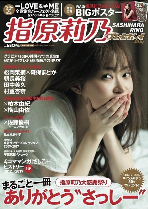 【朗報】「指原莉乃×週刊プレイボーイ2019」が爆売れしてる件