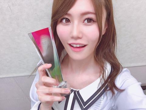 【AKB48総選挙】2年連続52位の込山榛香はもう伸びしろないの?