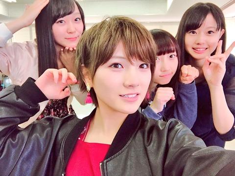 【STU48】岡田奈々「今日はSTUのかわいこちゃんたちに襲われました 。しあわせ」