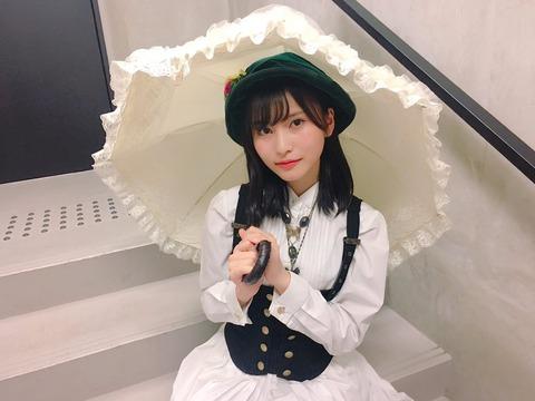 【AKB48】せいちゃんの「枯葉のステーション」衣装が似合いすぎな件【福岡聖菜】