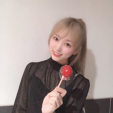 【IZ*ONE】矢吹奈子、金髪ポニーテールにファン歓喜「どんどんキレイに」「大人っぽくなった」←奈子ヲタは本心で受け入れてるのか