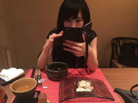 【NMB48】木下春奈、さや姉とサシでご飯を食べに行く