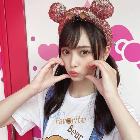 【NMB48】USJに舞い降りた梅山恋和ちゃんが可愛すぎると話題に!!!