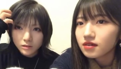 【AKB48】岡田奈々と村山彩希がSHOWROOM泥酔配信www