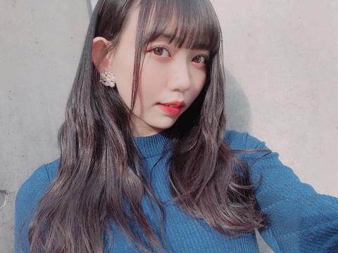 【SKE48】野島樺乃ちゃんって細いのにお●ぱい大きいのな