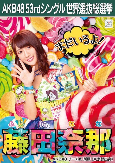 【AKB48総選挙】竹内美宥、藤田奈那は今年ランクインすることができるのか?