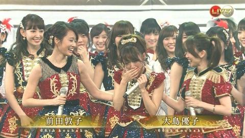 【AKB48】週刊新潮「紅白サプライズはヤラセ!事前に指原が20人ほどメンバーにばらしてた」